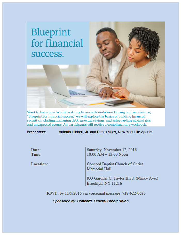 Blueprint for financial success malvernweather Image collections