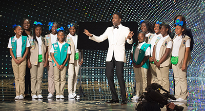 Thanks to Chris Rock, Girl Scouts Raise Dough with Cookie Salesat Academy Awards