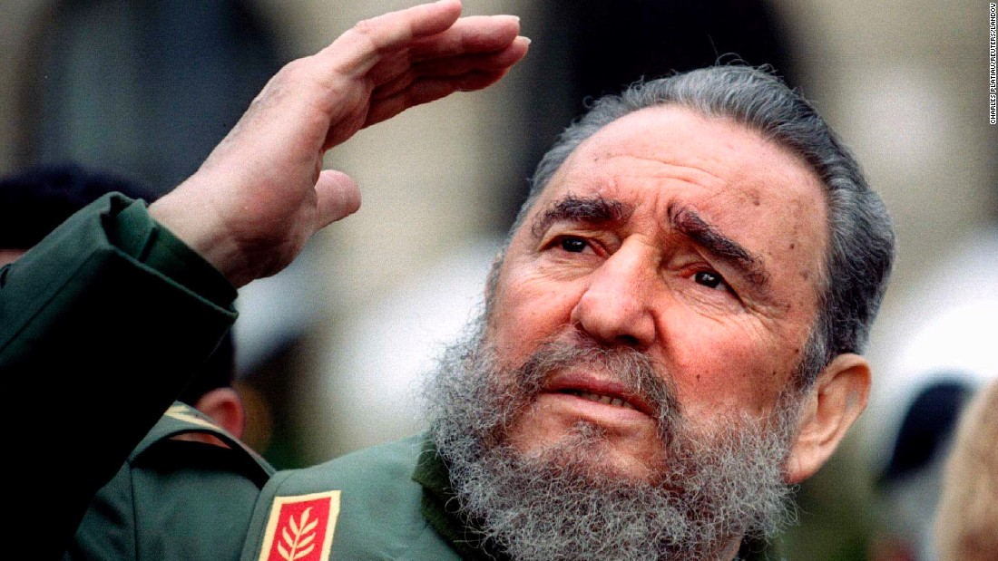 Fidel Castro, Cuban Revolutionary, Friend of Africa and Medical Practitioner to the World, Passes at 90