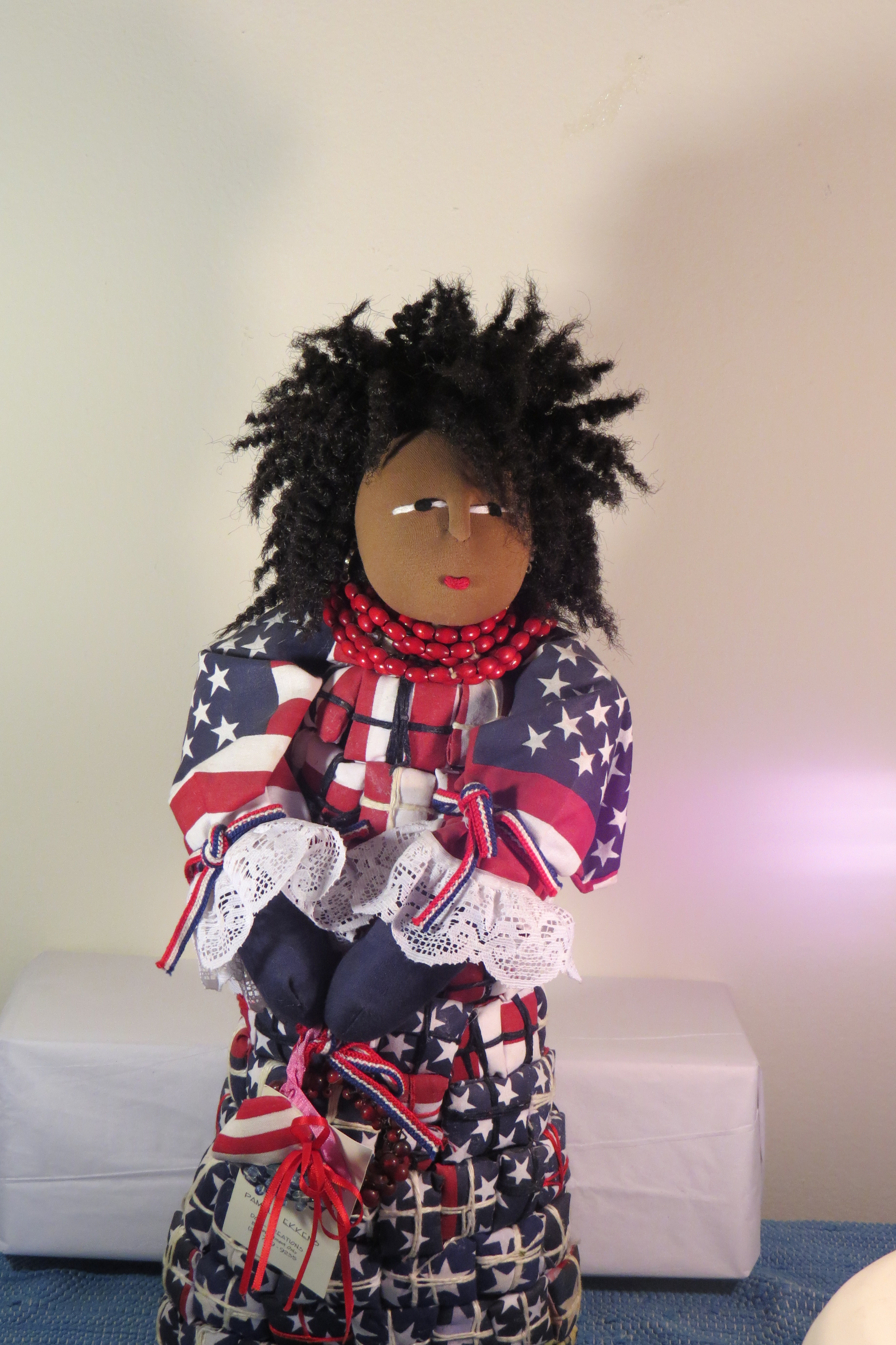 Brooklyn's Black Doll Artists Showcase One of a Kind Dolls at Harlem Doll Show December 3