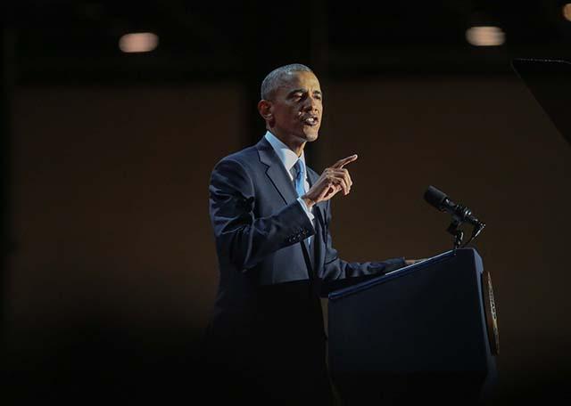 President Obama farewell address: full text