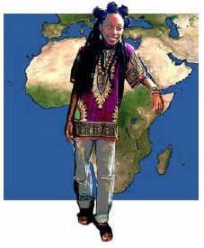 Black History Month:  Dashikis and Dreadlocks