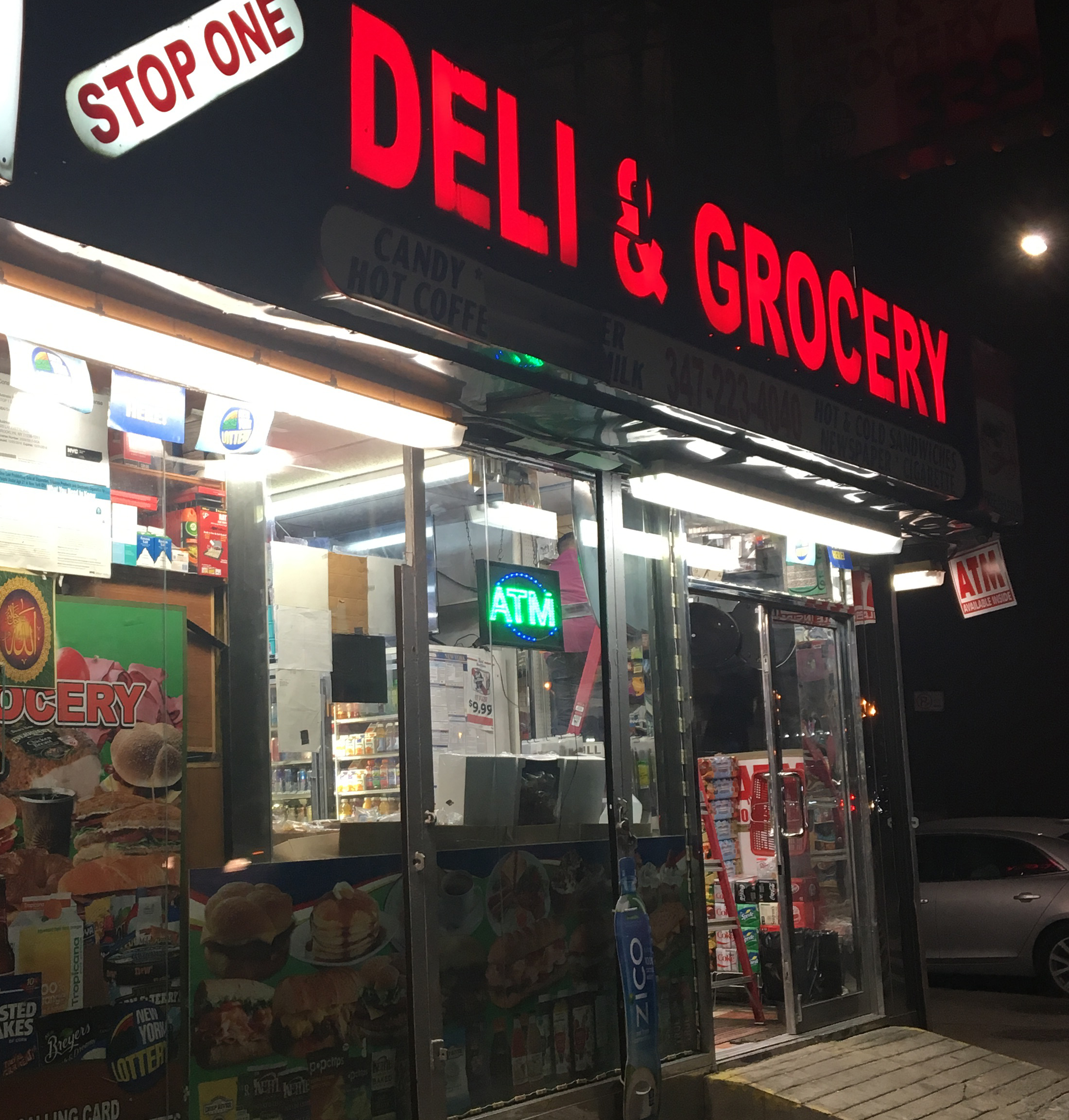 BP Adams Joins Yemeni Bodega Owners in Protest  of Trump's Muslim Travel Ban