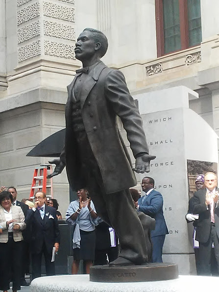 12' Statue to Honor Octavius V. Catto  Erected in Philadelphia