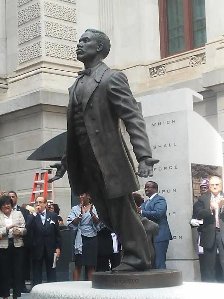12' Statue to Honor Octavius V. Catto  Erected in Philadelphia