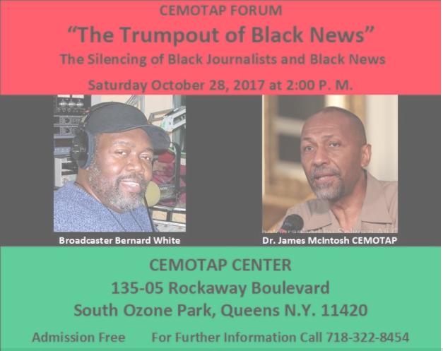 BERNARD WHITE SPEAKS OUT ON BLACK NEWS IN THE ERA OF TRUMP