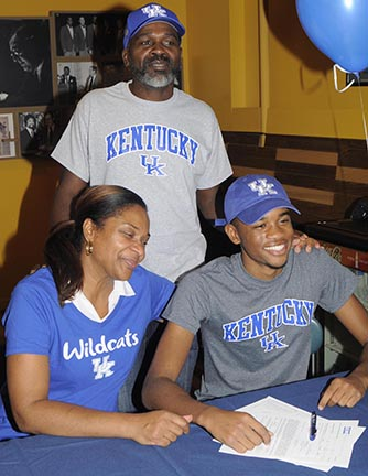 Midwood  HS Hurdling Phenom Signs with University of Kentucky