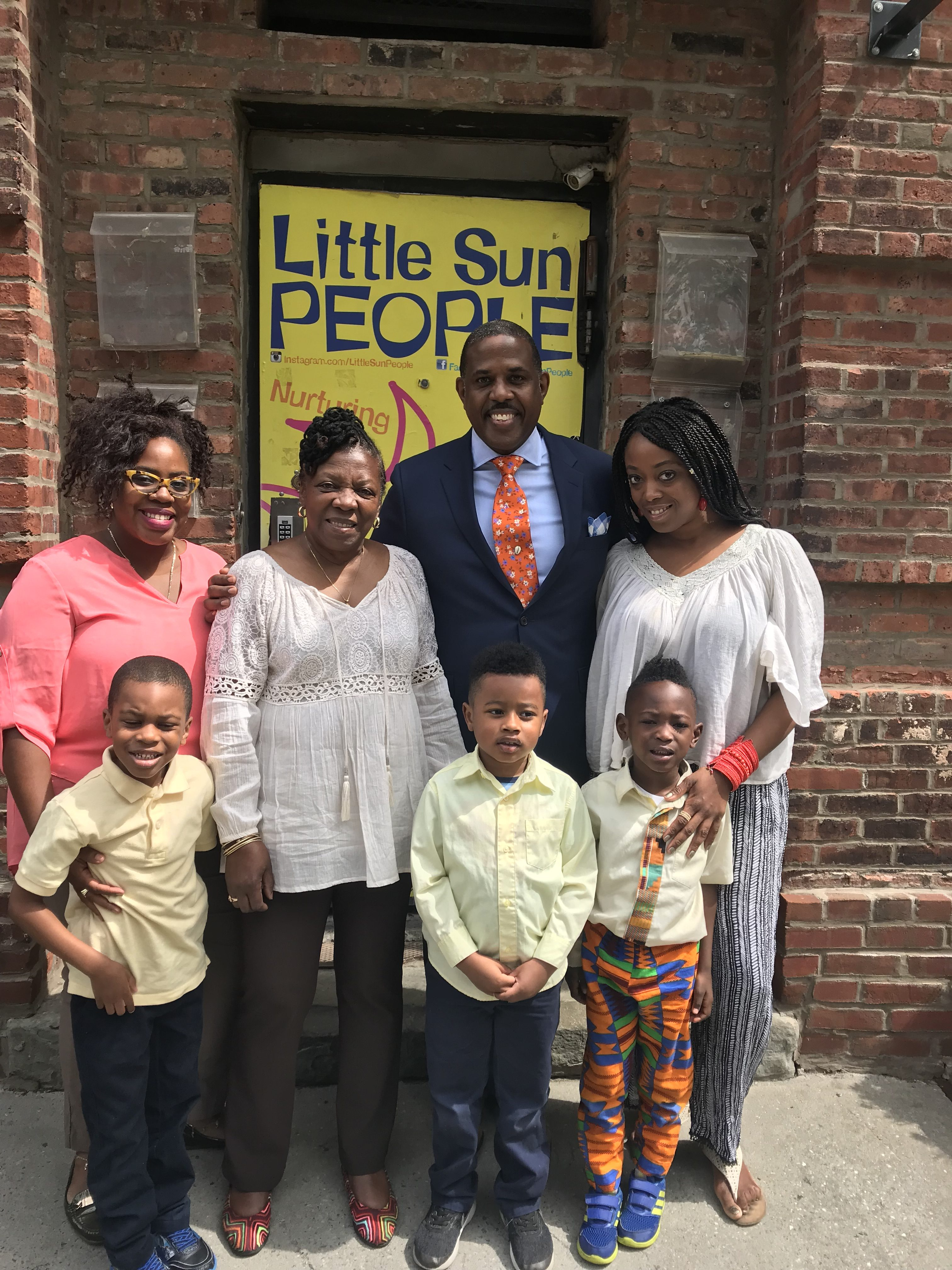 Community Chest:  Fela Barclift  Founder and Director, Little Sun People