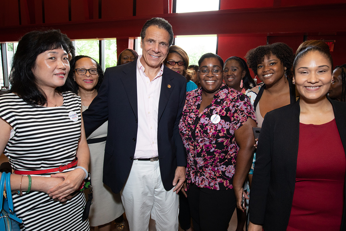 """BROOKLYN WOMEN LEADERS LAUNCH """"BROOKLYN WOMEN FOR CUOMO"""", ENDORSE GOVERNOR CUOMO FOR 3RD TERM"""