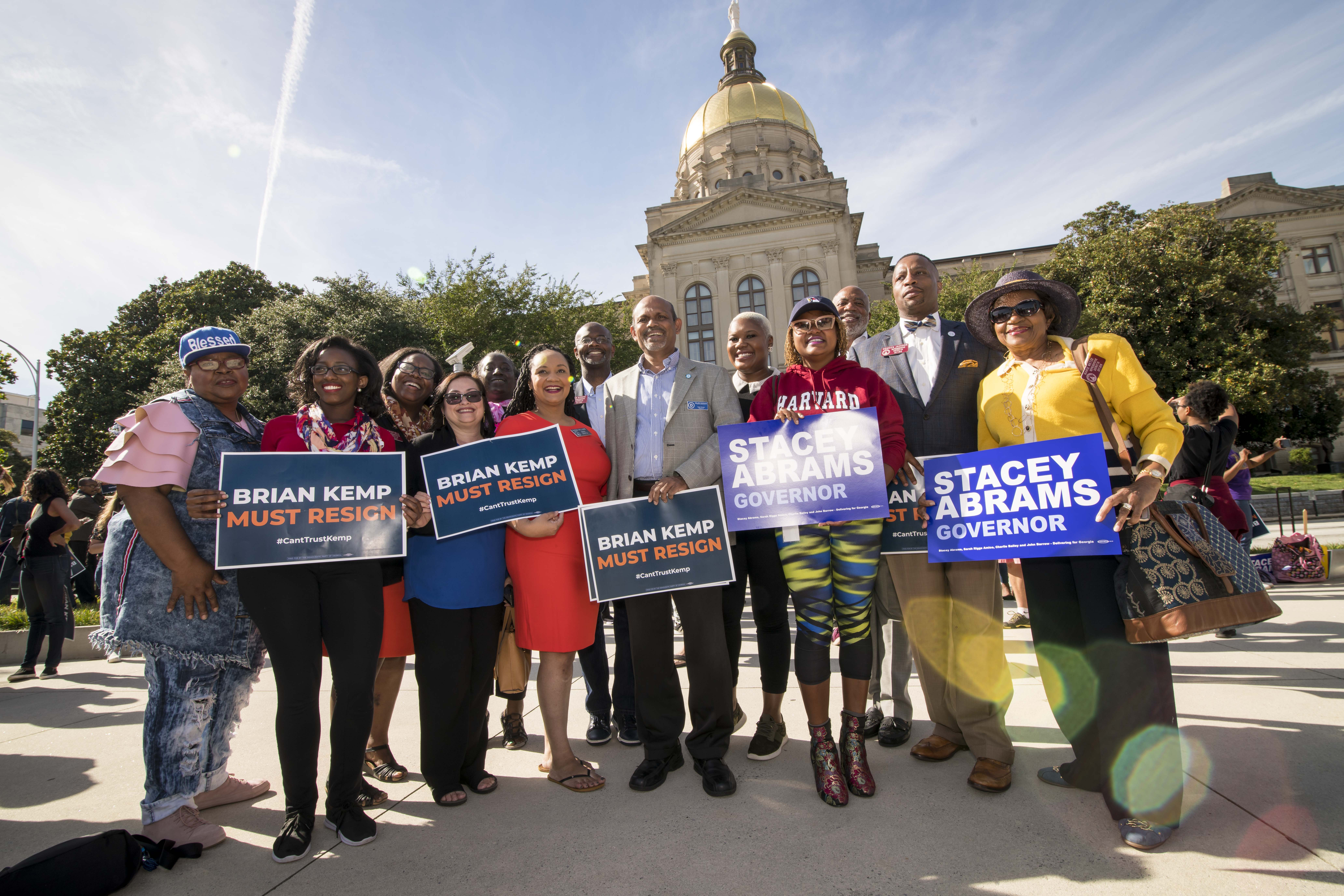 NAACP MONITORING POSSIBLE VOTER SUPPRESSION TACTICS IN GEORGIA GOVERNOR RACE