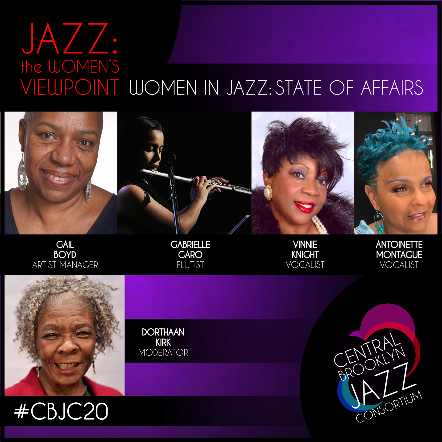 Central Brooklyn Jazz Consortium presents  Women in Jazz: State of Affairs