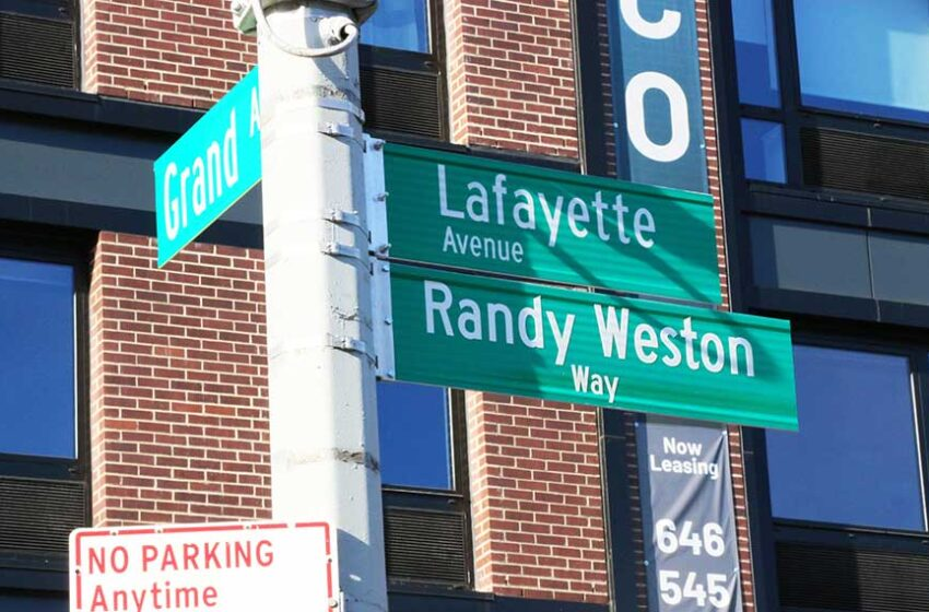 Street Named for Brooklyn Jazz Legend