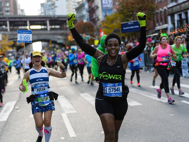 The 2019 NYC marathon is Sunday, Nov. 3rd.
