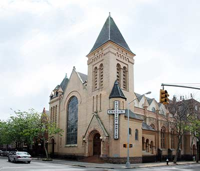 Cornerstone Baptist Church in Bedford Stuyvesant
