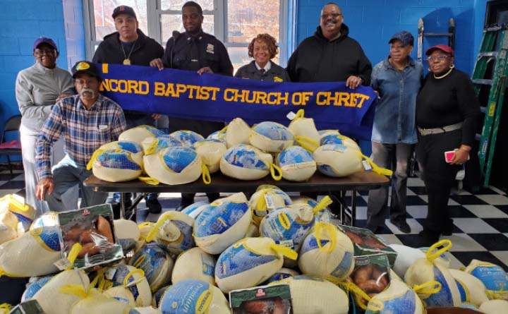 The Concord Baptist Church: A Vision of Love For the Community at Thanksgiving