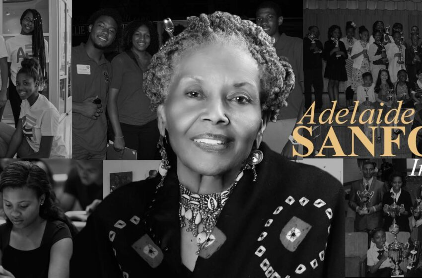 Catching Up with Dr. Adelaide Sanford
