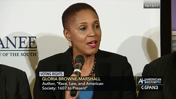 Prof. Gloria J. Browne Marshall on The Black Vote  Part II of Three Parts