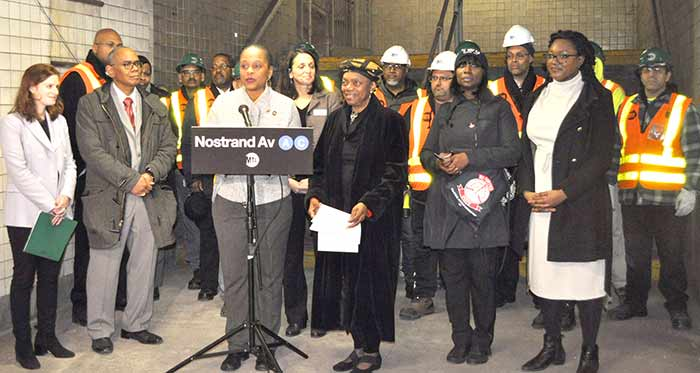 MTA Announces Reopening of Bedford Avenue Entrances to Nostrand Avenue A, C Subway Station