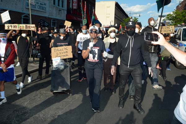 Brooklyn Protest Draws Thousands