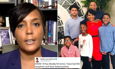 Atlanta Mayor Keisha Lance Bottoms tests positive for COVID-19