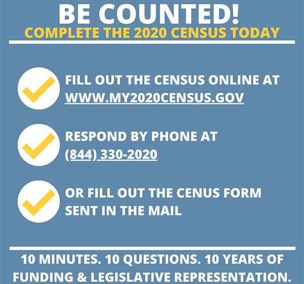 Are You In?  Have You Been Counted?  Census 2020 Deadline is September 30