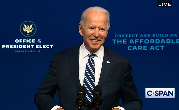 Biden Moves Forward