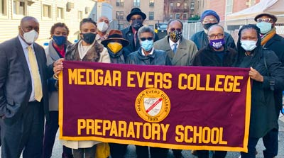 Majority Leader Cumbo Secures $110 Million Funding For Medgar Evers College And Medgar Evers College Preparatory H.S. Construction Project