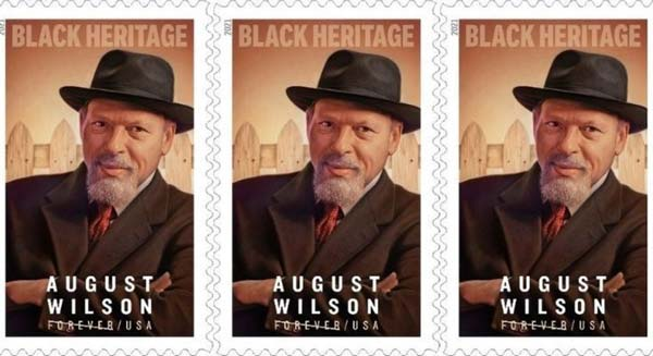 August Wilson Stamp Dedicated