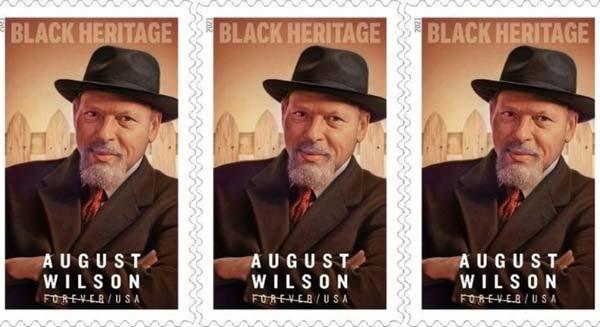 August WilsonStamp Dedicated