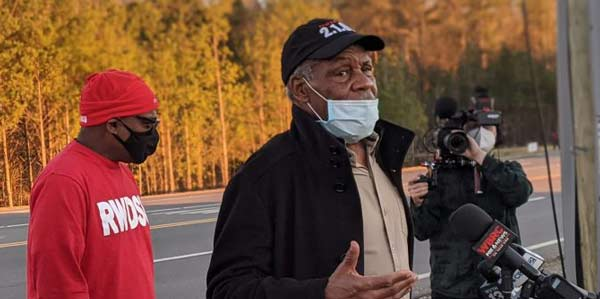 The Real News Network's With DANNY GLOVER on the Amazon Union Drive in Bessemer, Alabama