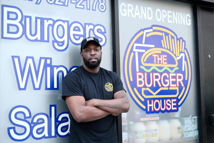 BED STUY WELCOMES THE BURGER HOUSE