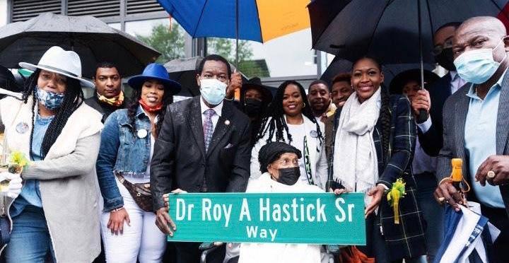 Dr. Roy A. Hastick Sr. Way Established