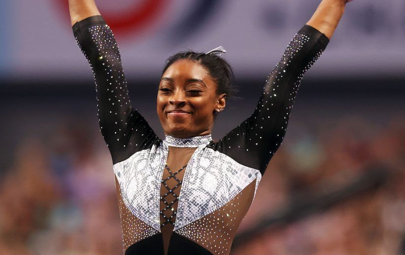 We're Not Worthy: Simone Biles Wins Record Seventh National Women's All-Around Title