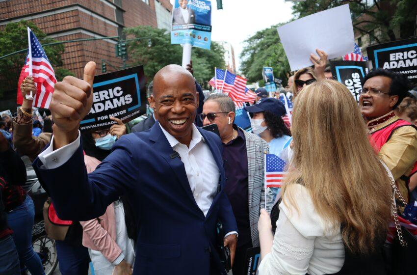 Adams in Lead for Mayor, Winner Not Known Until Mid-July