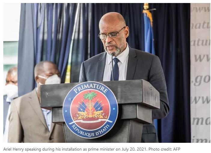 Haiti Inaugurates New Government