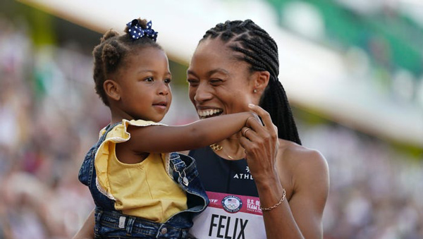 Black women dominating Track, Lane, Court, Barre at The Olympics in Tokyo