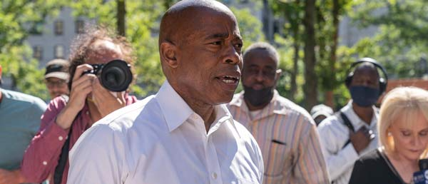 VIGILANT MAYORAL CANDIDATE ERIC ADAMS NOT DOWN WITH BOARD OF ELECTIONS COUNT