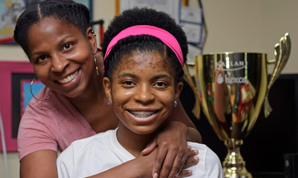 Zaila Avant-garde – 2021 Scripps National Spelling Bee Champ – stands where Black children were once kept out